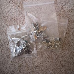 🦋 Silver DIY Jewelry Bundle
